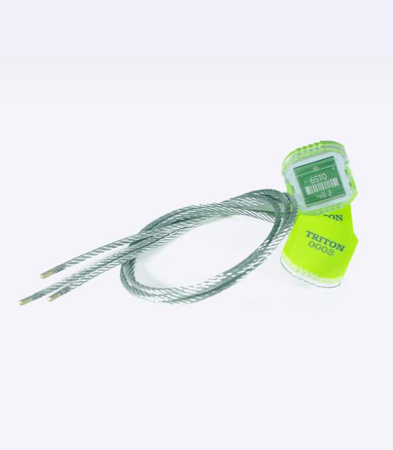 Sello cable ajustable con punta encapsulada
